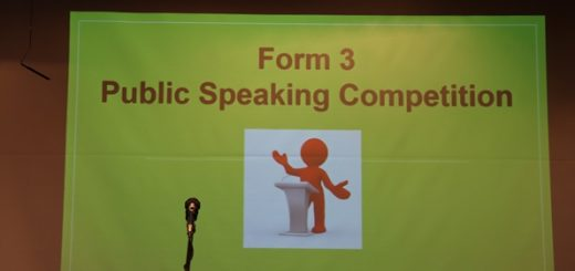 Cover photo_Form 3 English Public Speaking Competition_10 May 2019